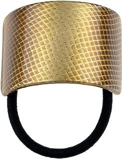 copper ponytail holder