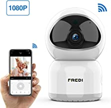 Baby Monitor, FREDI 1080P Wireless WiFi Pet Camera with Night Vision, Two-Way Audio, Motion Detection, IP Surveillance for Elder/Nanny Monitor - Work with iOS Android PC
