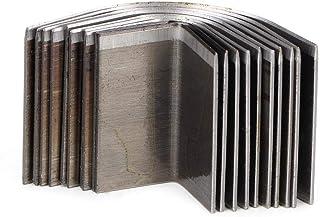 Die Cutter en cuir, en cuir Artisanat Rond Coin Shape Cutter Couteau En Cuir De Coupe Moule En Cuir Craft Tool Set(#A)