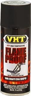 VHT SP102 FlameProof Coating Flat Black Paint Can - 11 oz.