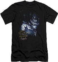 BATMAN Arkham Asylum Killer Croc Adult T-Shirt Black MD