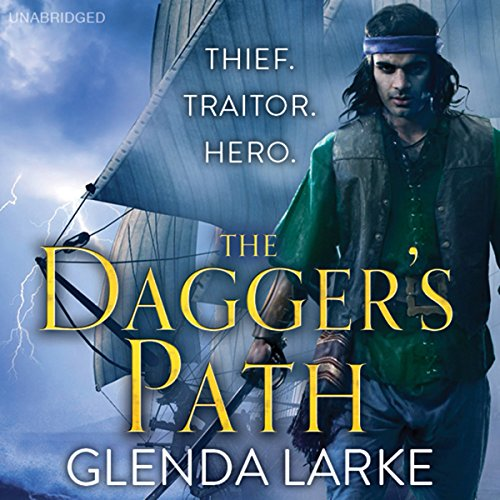 The Dagger's Path audiobook cover art