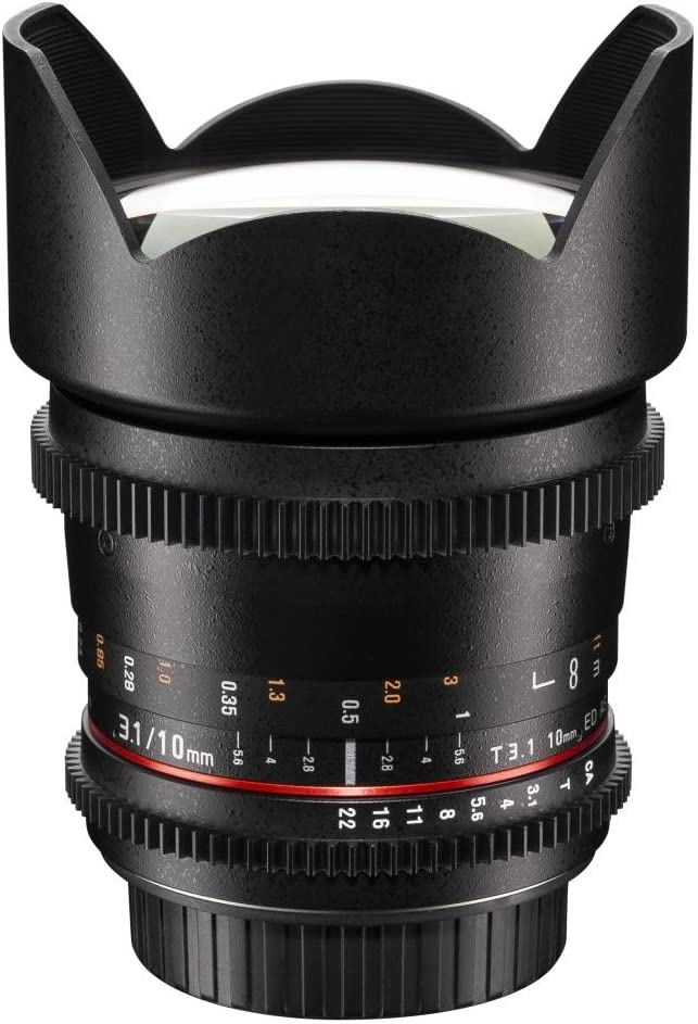 Walimex Pro 10 Mm 1 3 1 Vcsc Wide Angle Lens For Camera Photo