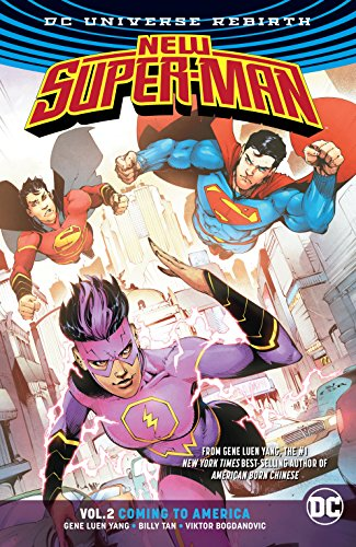 New Super-Man (2016-2018) Vol. 2: Coming to America (English Edition)