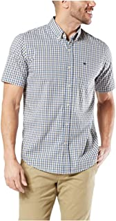 Dockers Men's Short-Sleeve Button-Down Comfort Flex Shirt