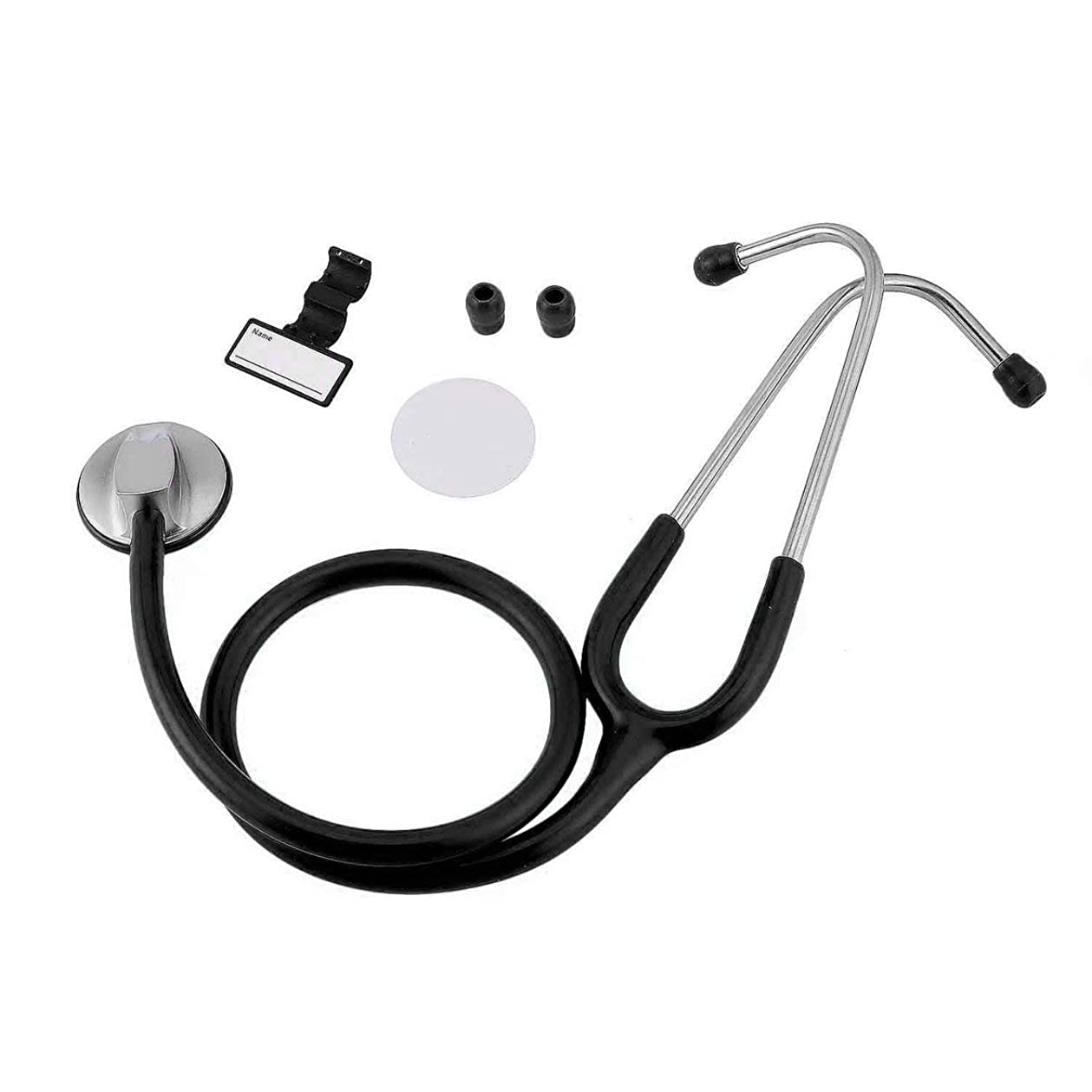 日の出扱うインストラクターintercorey聴診器ポータブルフラットヘッド聴診器医療聴診器用具救助妊娠赤ちゃん聴診器医師医療ヘルスケア