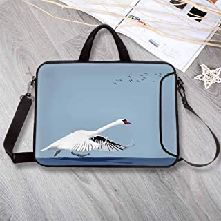 Ambesonne White Gym Bag Fisherman on Boat Sketch Large Weekender Carry-on