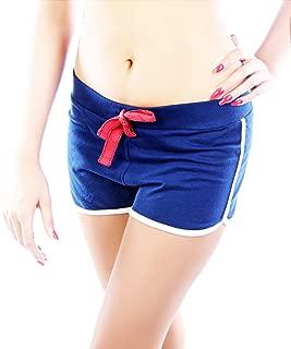 Awadh Chikan Craft 女式印花沙滩短裤/慢跑/健身房/运动/瑜伽/夜间/运动裤