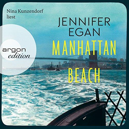 Manhattan Beach audiobook cover art