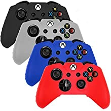 Generic Pack of 4 Color Combo Neewer Silicone Protective Case For Xbox-One Controller -Red/Blue/White/Black