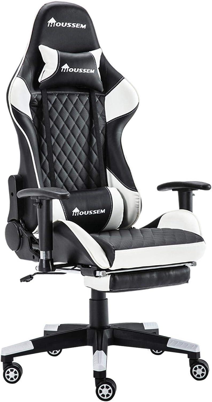 Gaming Chair 2D Same day shipping Adjustable Armrests Sponge Origina + 5 ☆ popular Stereotyped