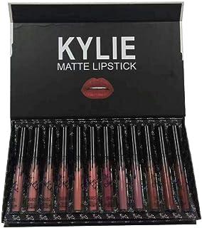 shentaotao Kylie Jenner Brillo de Labios lápiz Labial 12 Colores