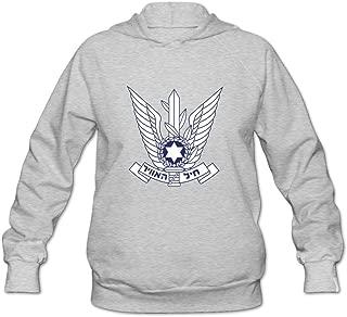 Israeli Air Force Hot Casual Long Sleeve Hoodie For Adult