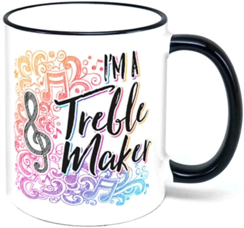 I M A Treble Maker Coffee Mug Music Gift