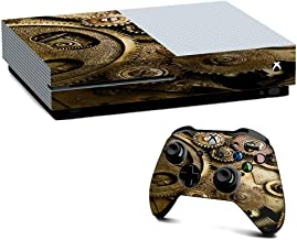 IT'S A SKIN Xbox One S Console & Controller Decal Vinyl Wrap   Steampunk Gears Steam Punk Old