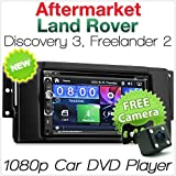 Lecteur multimédia (DVD, USB, MP3, CD, radio) 7'' pour Land Rover Discovery 3et Freelander 2
