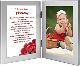 Mommy Gift, Sweet Poem from Son or Daughter for Birthday or Christmas, Add Photo