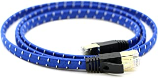 PcConnectTM Black Cat5e RJ45 Ethernet Patch Cable with Molded Boot 5feet cable