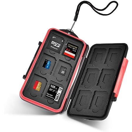 Utebit Speicherkarte Sd Karte Tasche Mini Sd Card Case Kamera