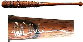 Jeffrey Dean Morgan Negan Walking Dead Autographed Signed Lucille Bat Mint Autograph - JSA Authentic