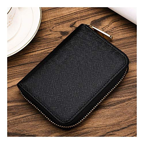 Korte Mini Portemonnee Mannen Zakelijke Handige Rits Handtas voor Reizen Winkelen Zakelijke Casual