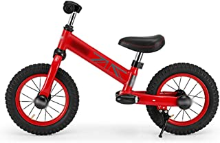 ADPTT Kids and Toddlers Strider Bike Push and Stride Bicycle No Pedals 2-6 Year Old Boys Girls Balance Bike Two-Wheeled Pedalless Sport Traning Children Walking Bicycles