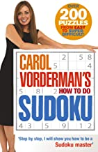 Carol Vorderman's How to Do Sudoku