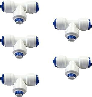 ajuste RO paquetes de 1 5 2 10 o 0,64 cm camiseta T-s/üdmetall conector de montaje