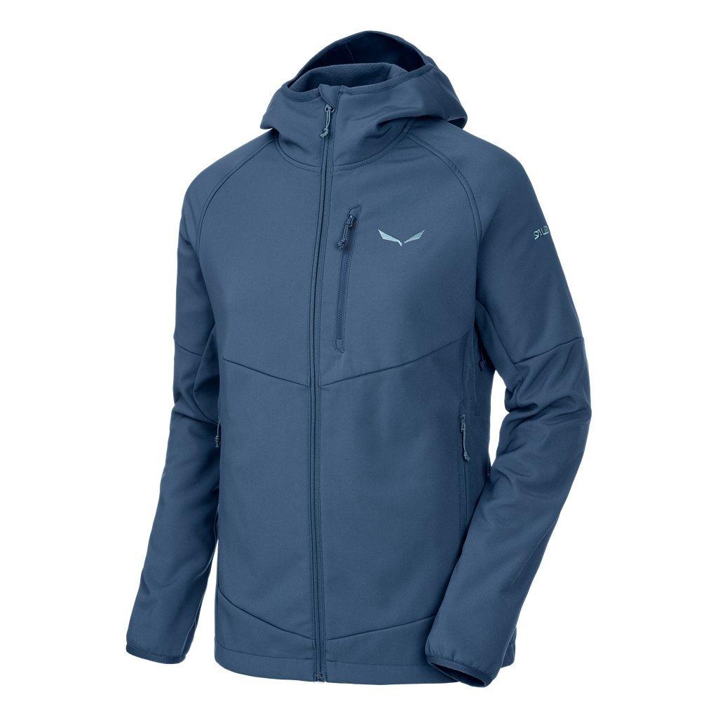 Salewa Puez Sw W Fz HDY - Sweatshirt für Damen, Farbe Blau, Größe 46/40