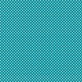 babrause® Baumwollstoff Mini Sterne Türkis Webware