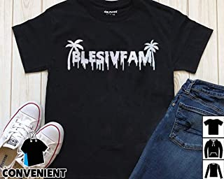 Alex Blesiv Fam Palm Blesivfam Drip Logo T Shirt Long Sleeve Sweatshirt Hoodies
