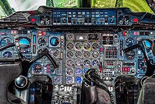 YYTTLL Puzzle Jigsaws 1000 Piezas Jigsaws Puzzle Concorde Airplane Cockpit Panel De Control De Panel De Control para Ni?os para Paisaje Foto De Casa