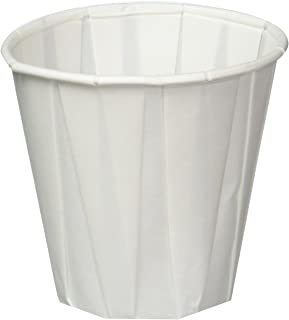 Pleated Water Cups, 3 1/2 Oz, Pack of 100