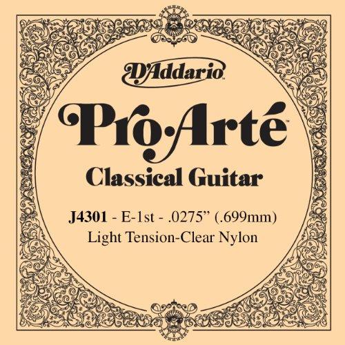 D'Addario ダダリオ クラシックギター用バラ弦 プロアルテ E-1st J4301 【国内正規品】