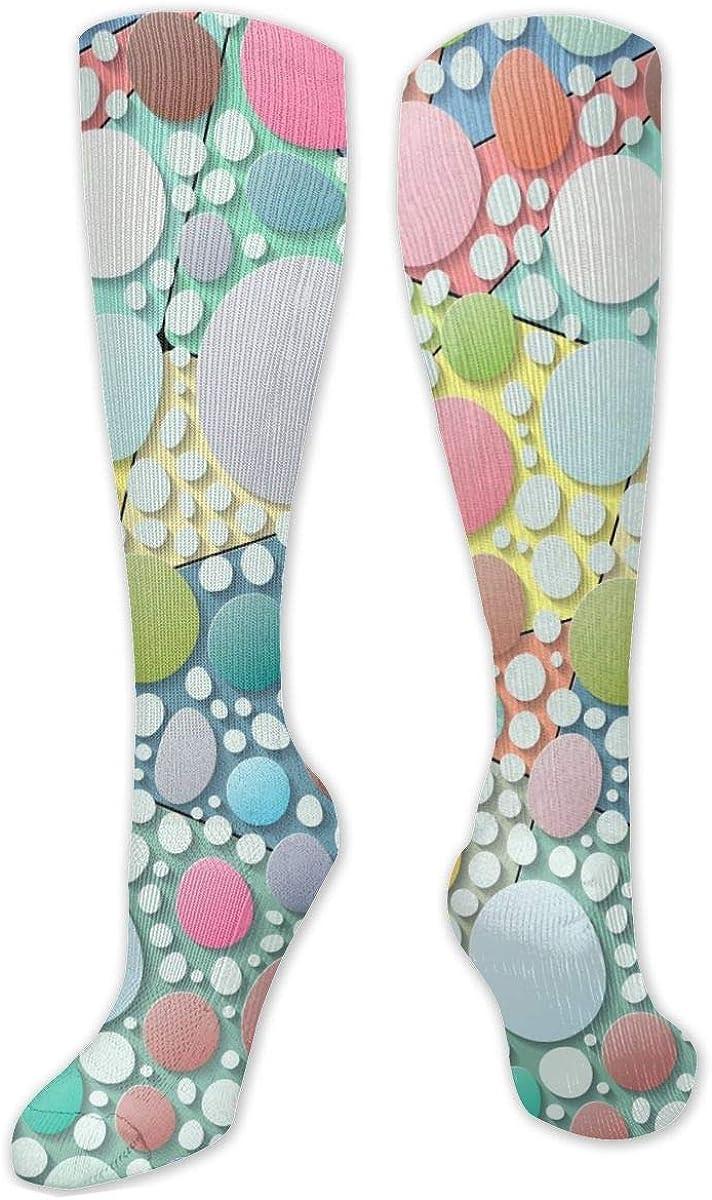 Pattern 168 Knee High Socks Leg Warmer Dresses Long Boot Stockings For Womens Cosplay Daily Wear