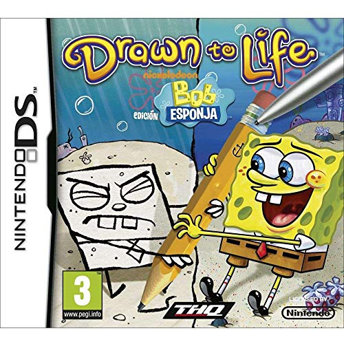 Drawn to Life Edición Bob Esponja