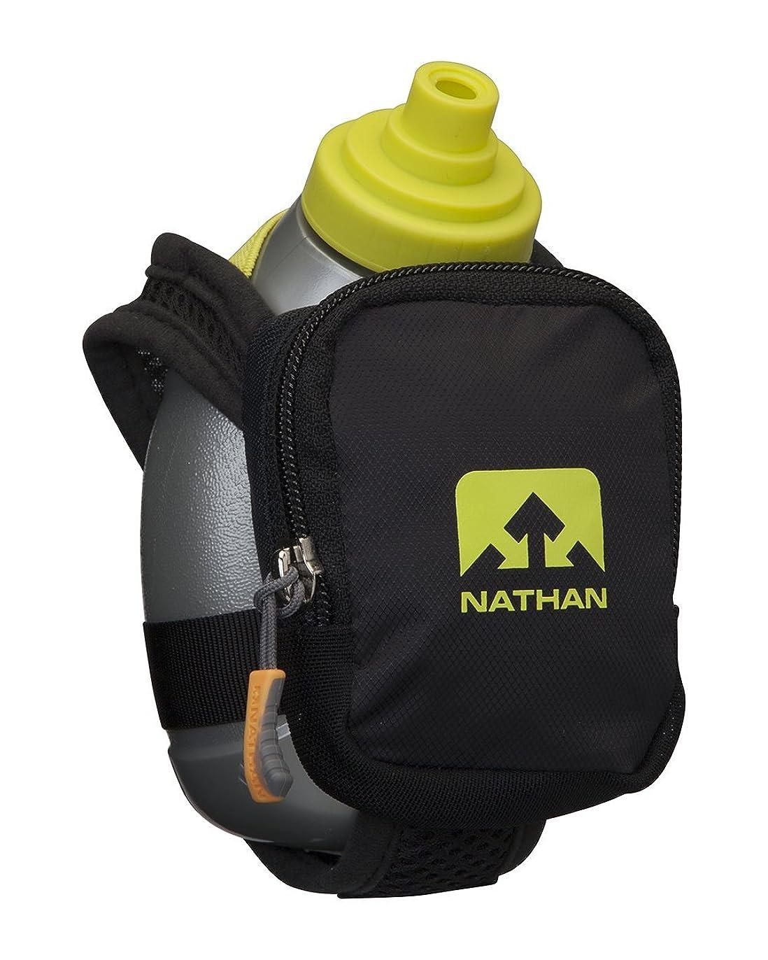 ドラフト符号シェルター[ネイサン] NATHAN ハイドレーションハンドボトル クイックショットプラス ブラックライト