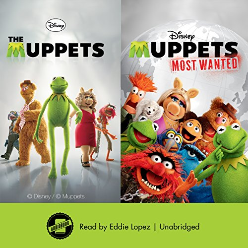 The Muppets & Muppets Most Wanted audiobook cover art