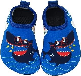 Toddler Baby Water Shoes Water Socks Non-Slip Unicorn Shark Swim Shoes Girls Boys Pool Beach
