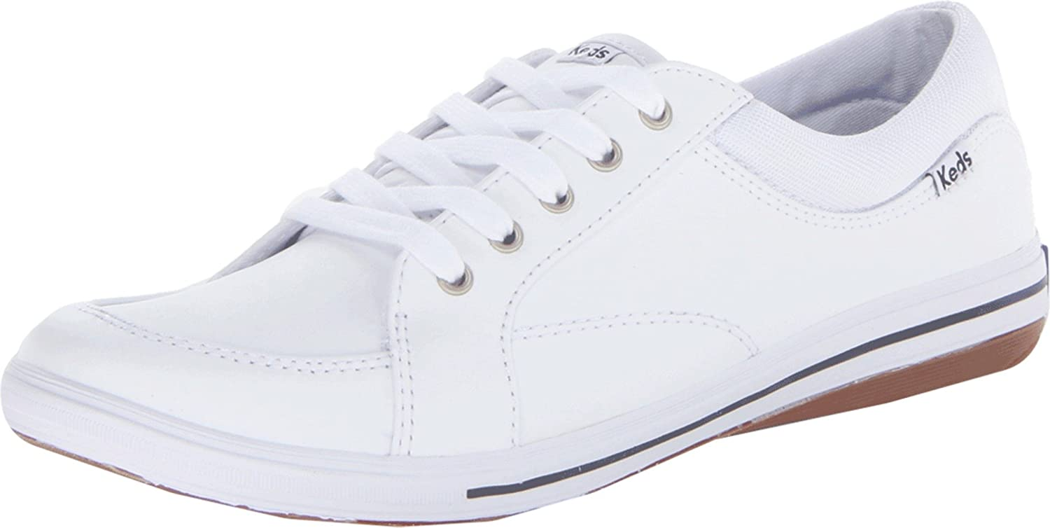 Keds Women's Vollie Leather Fashion Sneakers