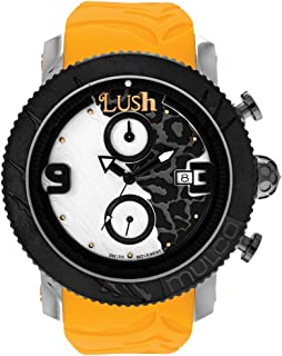 Unisex Swiss Chronograph Analog Watch - Multifunctional 100% Silicone Band - Water Resistant