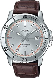 Casio Analog Silver Dial Men's Watch-MTP-VD01L-8EVUDF (A1739)