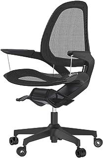 【即納可】フェローズ オフィスチェア Elea エレア 黒 快適な姿勢を無意識で維持できる 8082701