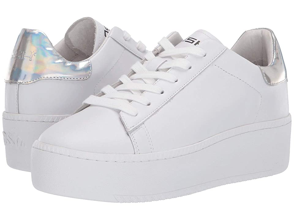 ASH Cult (Nappa Calf White/Rainbow Silver) Women