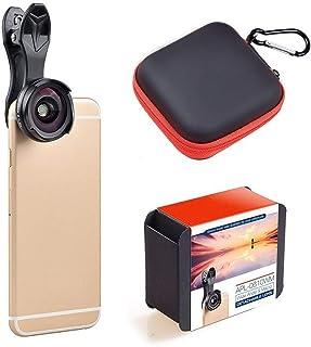 L.J.JZDY telefonlins mobiltelefon lins ny icke-förvrängning, ingen mörk vinkel vidvinkel macro två-i-ett-set universal SLR...
