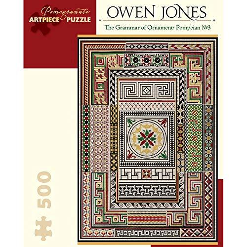 Owen Jones the Grammar of Ornament Pompeian No. 3 500-Piece Jigsaw Puzzle
