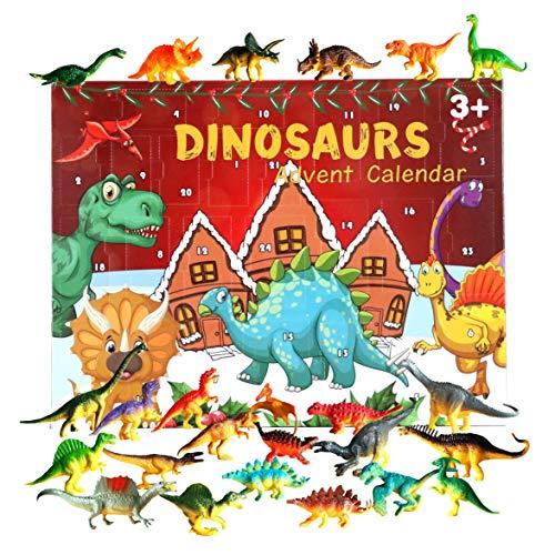 Hanizi Dinosaurs Advent Calendar for Kids, Christmas 24 Days Countdown Calender for Boys and Girls