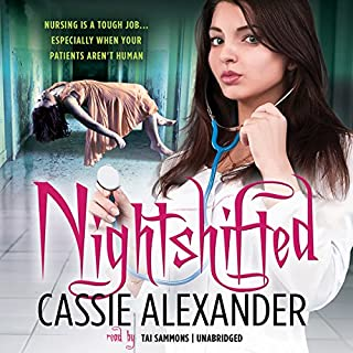 Nightshifted audiobook cover art