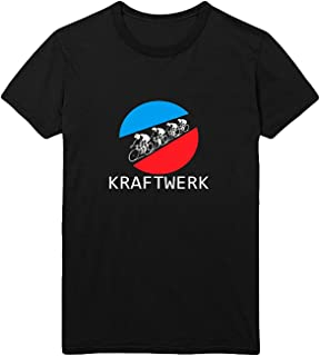 Personality Kraftwerk Tour De Men's 100% Cotton T-Shirt Black