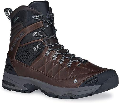 Vasque Hommes's Saga Leather GTX Hiking chaussures, Coffee Bean, 7M